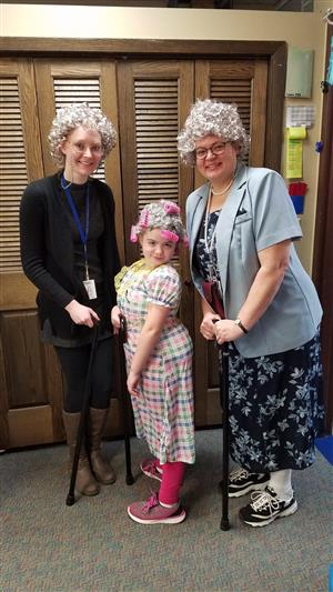 Celebrating the 100th Day of School at Medary!
